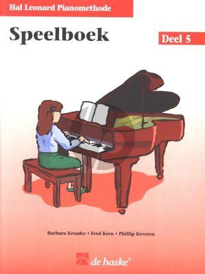 Piano Methode Vol.5 Speelboek (Alleen het Boek) (Barbara Kreader - Fred Kern - Phillip Keveren)