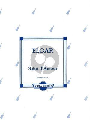 Elgar Salut d'Amour Viola-Piano (arr. Alan Arnold)