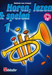 Horen, Lezen & Spelen Vol.1 Methode Trompet (Bk-Cd)