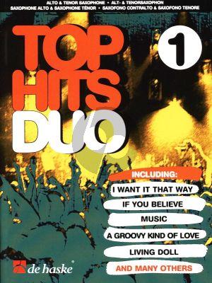 Beringen Top Hits Duo 1 2 Saxophones (AT)