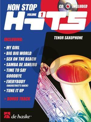 Non Stop Hits Vol.1 Tenor Saxophone (Bk-Cd) (medium)
