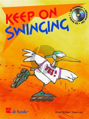Boer/Lutz Keep on Swinging for Flute (Bk-Cd) (interm.)