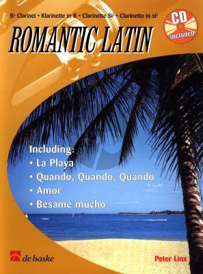Linx Romantic Latin for Clarinet (Bk-Cd) (medium)