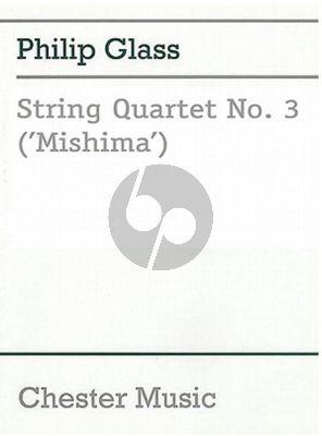 """Glass Quartet Nr.3 """"Mishima"""" (Score)"""