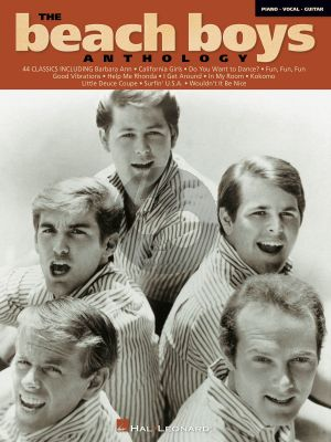 The Beach Boys Anthology (Piano-Vocal-Guitar)