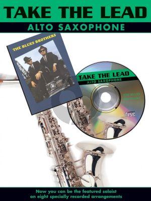 Take the Lead Blues Brothers Alto Sax. (Bk-Cd) (interm.)