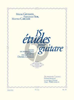 15 Etudes de Giuliani Sor et Carcassi pour Guitare (Daniel Lavialle)