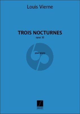 3 Nocturnes Op.35 Piano seule