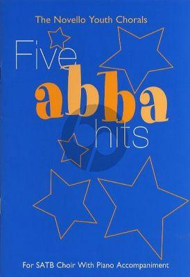 5 Abba Hits SATB-Piano