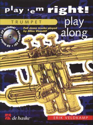 Veldkamp Play 'em Right - Play Along for Trumpet (Bk-Cd) (grade 3)