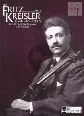 Kreisler Collection Vol.3 Violin-Piano