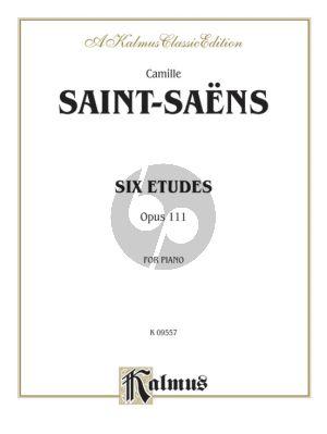 Saint-Saens 6 Etudes Op. 111 Piano