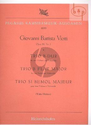 Trio B-flat major Op.19 No.1 (2 Vi.-Vc.)