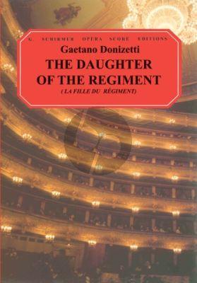 La Fille du Regiment (The Daughter of the Regiment) Vocalscore (fr./engl.)