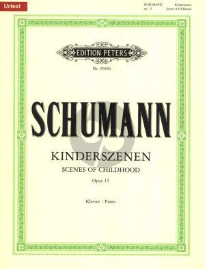 Schumann Kinderszenen Op.15 fur Klavier (Herausgegeben von Hans Joachim Köhler) (Peters-Urtext)