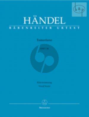 Tamerlano HWV 18 (Vocal Score)