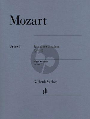 Mozart Sonaten Vol.1 Klavier (Herttrich/Theopold) (Henle-Urtext)