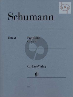 Papillons Opus 2 Klavier (edited by Ernst Herttrich)