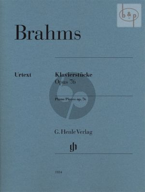 Klavierstucke (Piano Pieces) Op.76