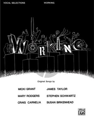 Working Vocal Selections (Piano-Vocal-Chords)
