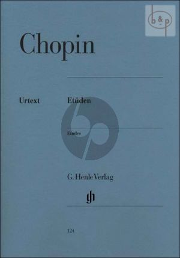 Chopin Etuden Op.10 - Op.25 (3 Etuden ohne Opus) Piano (edited by Ewald Zimmermann) (Henle-Urtext)