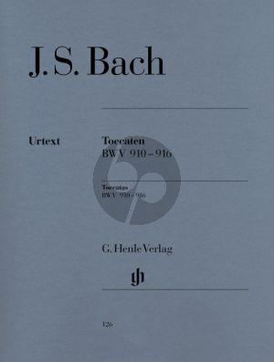 Bach Toccaten BWV 910 - 916 Klavier (Edited by Rudolf Steglich - Fingering by Hans-Martin Theopold) (Henle-Urtext)