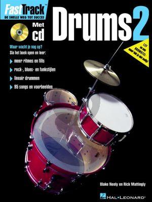 Neely-Mattingly FastTrack Drums Vol.2 (Bk-Cd) (Ned.)