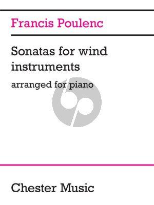 Poulenc Sonatas for Windinstruments for Piano solo (arr.)