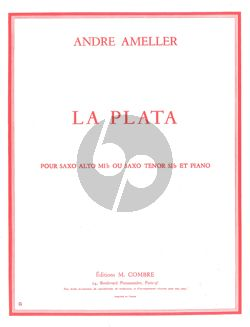 Ameller La Plata Saxophone alto ou tenor et Piano
