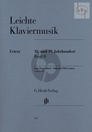 Leichte Klaviermusik des 18 - 19.Jahrh.Vol.2