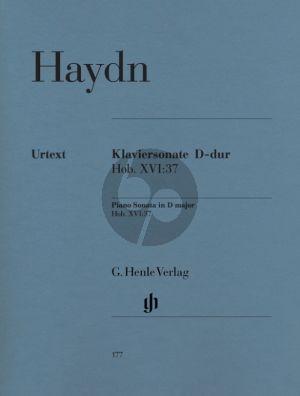 Haydn Sonate D-dur Hob.XVI:37 Klavier (Georg Feder)
