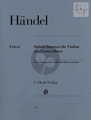 7 Sonaten Violine-Bc