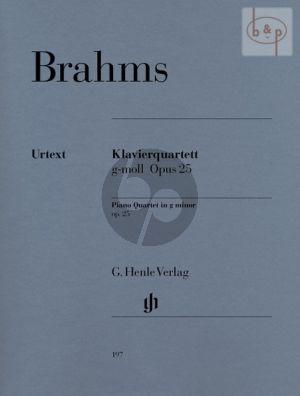 Quartet g-minor Op.25 (Vi.-Va.-Vc.-Piano) (Score/Parts)