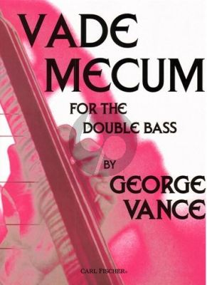 Vance Vademecum for the Double Bass