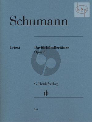 Davidsbündlertänze Op.6 (edited by Ernst Herttrich)