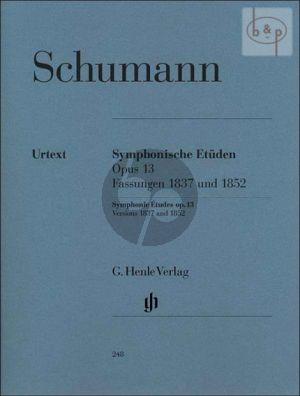 Schumann Symphonic Studies Op.13 Piano (Version of 1837 and 1852) (Ernst Herttrich)