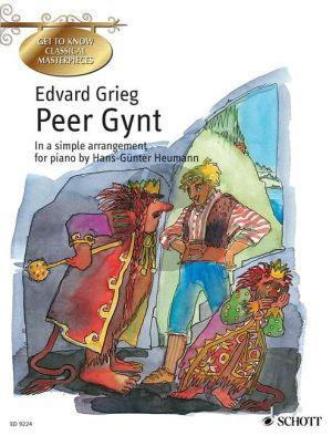 Grieg Peer Gynt Suite 1-2 Op.46-55 Piano solo (Heumann)