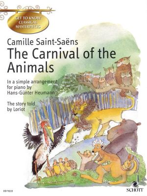 Saint-Saens The Carnival of the Animals Piano solo (Heumann)