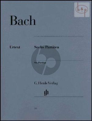 6 Partiten BWV 825 - 830 Klavier