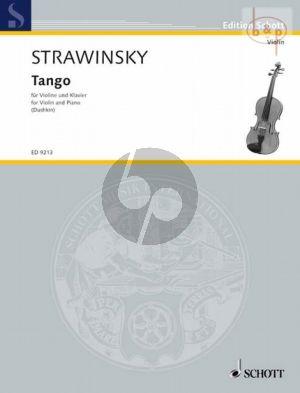 Tango Violine - Klavier