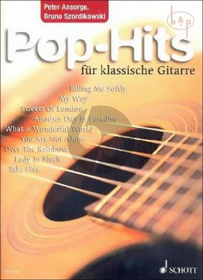 Pop Hits for Classical Guitar
