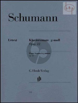 Sonata g-minor Op.22 (edited by Ernst Herttrich)
