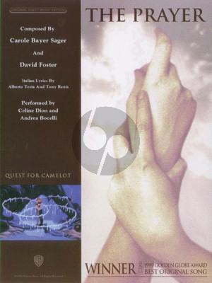 Dion The Prayer Piano-Vocal-Guitar (single sheet)
