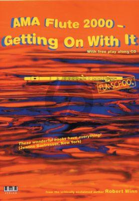 Winn Ama Flute 2000 - Getting on with It (Bk-Cd) (english)