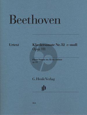 Sonate Op.111 c-moll Klavier