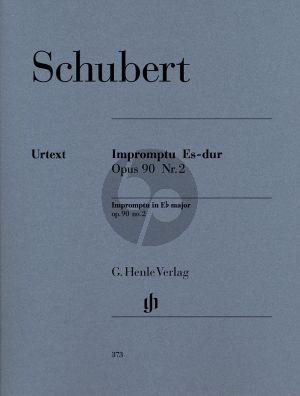 Schubert Impromtu E-flat major Op.90 No.2 (edited Walter Gieseking) (Henle-Urtext)
