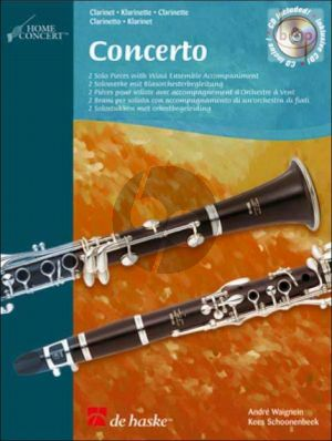Concerto for Clarinet (2 Solo Pieces with Wind Ensemble Accomp.)