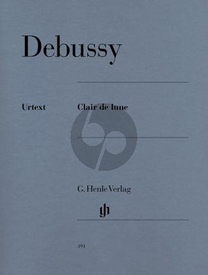 Debussy Clair de Lune Piano solo (edited by Ernst-Günter Heinemann) (Henle-Urtext)