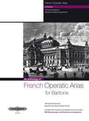 French Operatic Arias for Baritone (Nichols) (19th Century Repertoire) (with Translations)