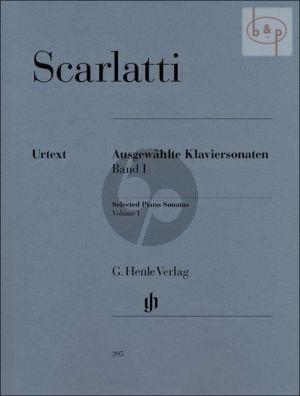 Scarlatti Ausgewahlte Sonaten Vol.1 Klavier (edited by Bengt Johnssohn)